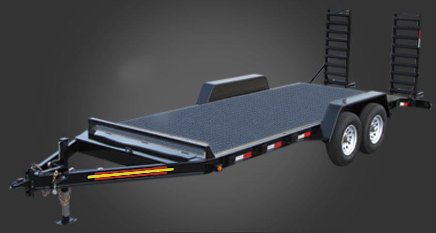 12,000 GVWR Equipment Trailer Michigan