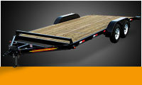 Car Trailers Wood Floor
