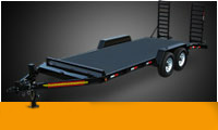 Equipment Trailers Diamond Floor