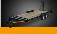 Equipment Trailers Wood Floor