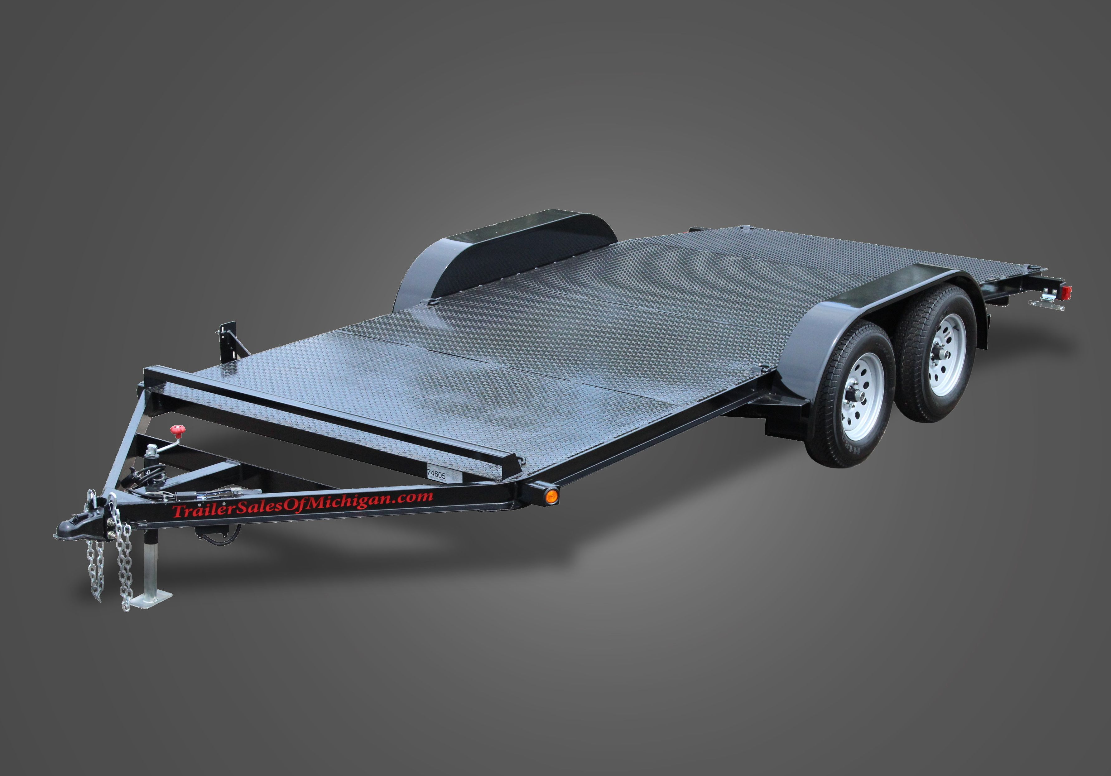 Diamond Floor Car Trailers by Trailer Sales of Michigan