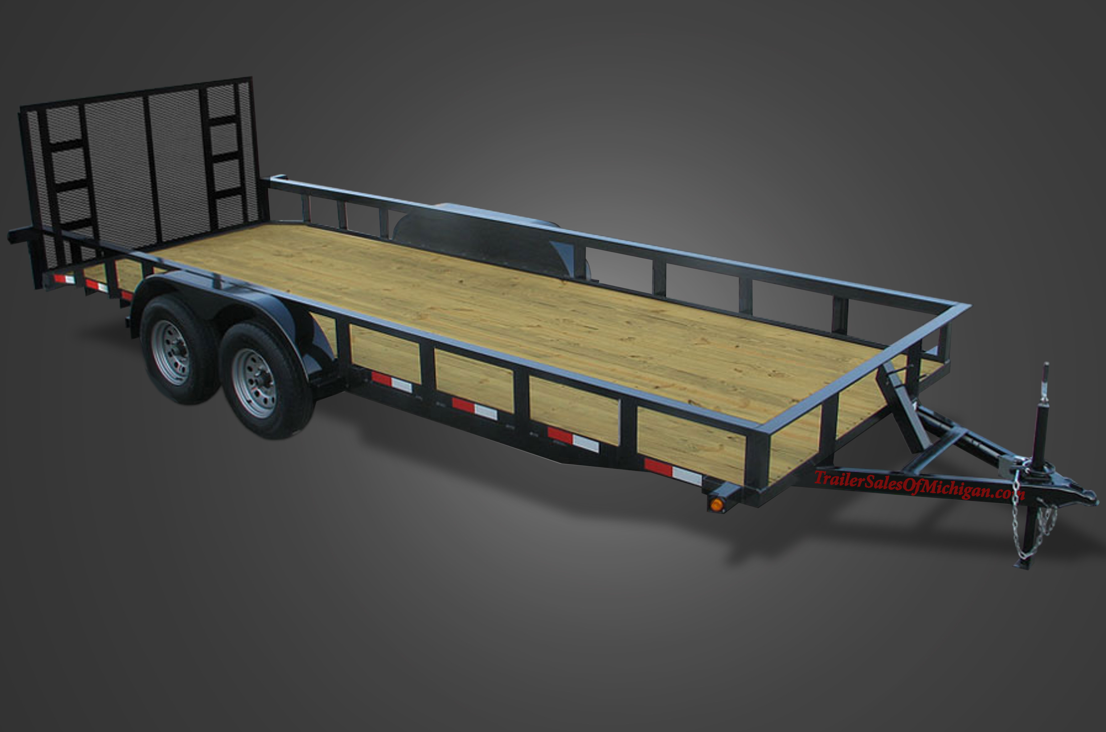 Tandem Axle Utility Trailers on flatbed wiring diagram