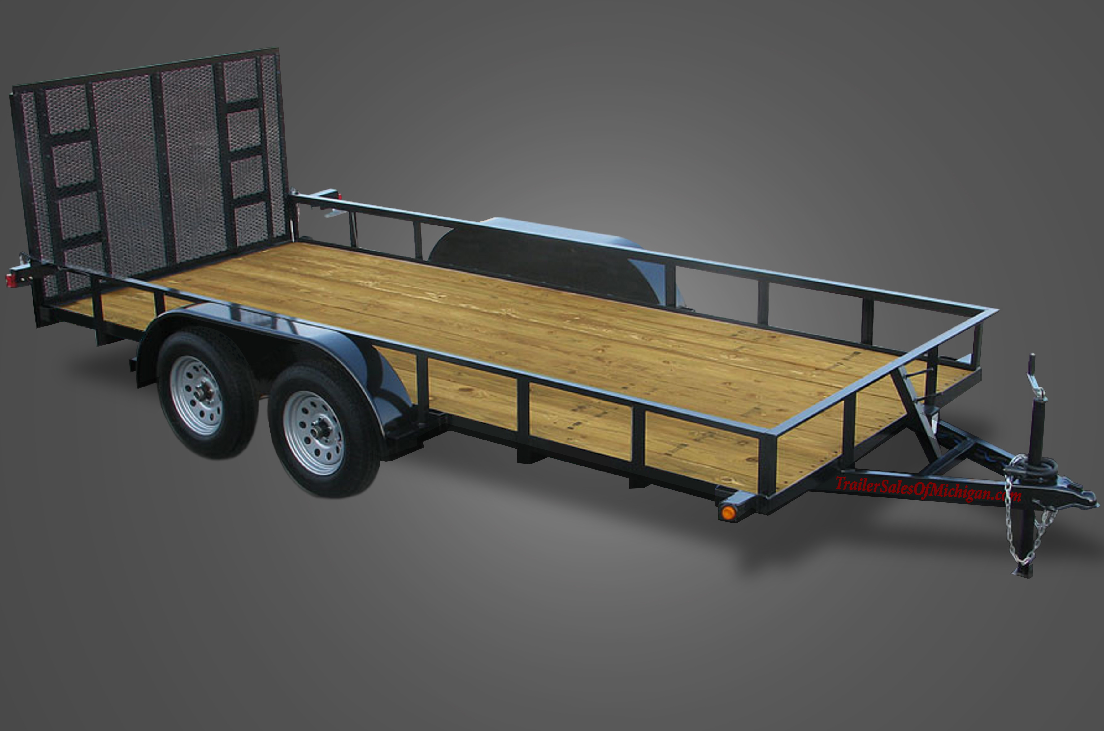 6000 GVWR Utility Trailer by Trailer Sales of Michigan