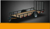 Utility Trailers Single Axle Landscape
