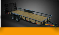 Utility Trailers Tandem Axle Landscape