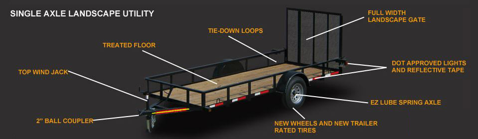 single-axle-utility-trailers