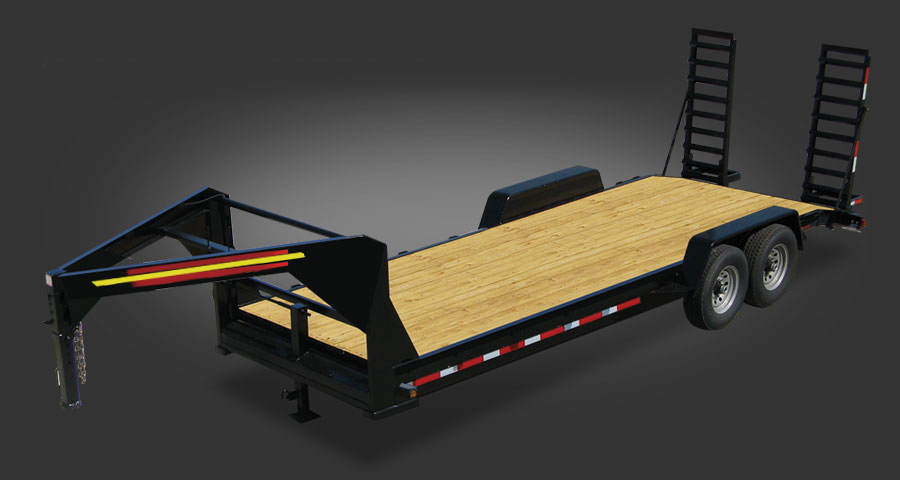 Gooseneck Trailer _ Equipment Wood Floor