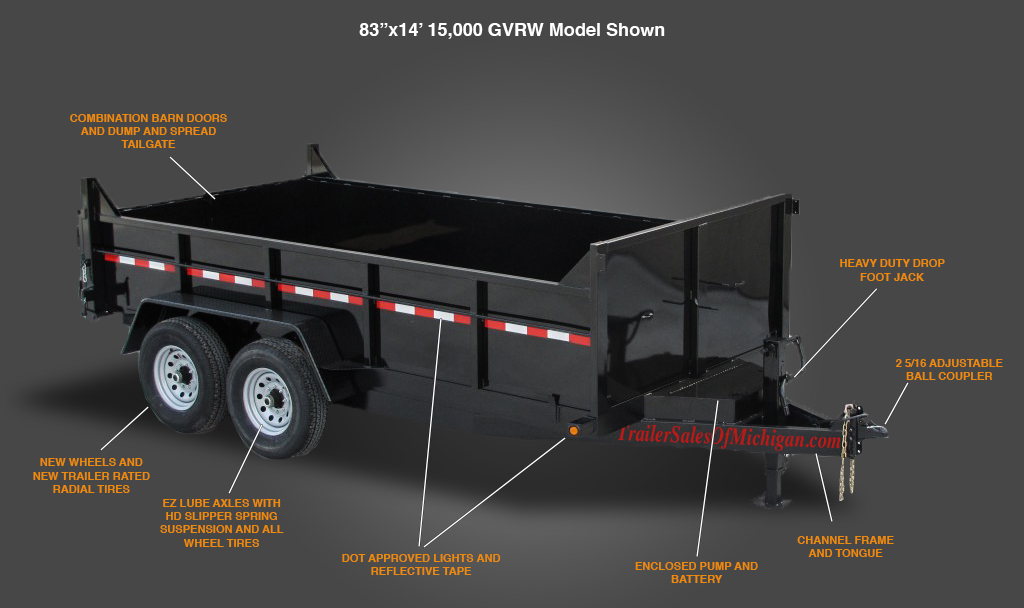 heavy-duty-dump-trailer-poster